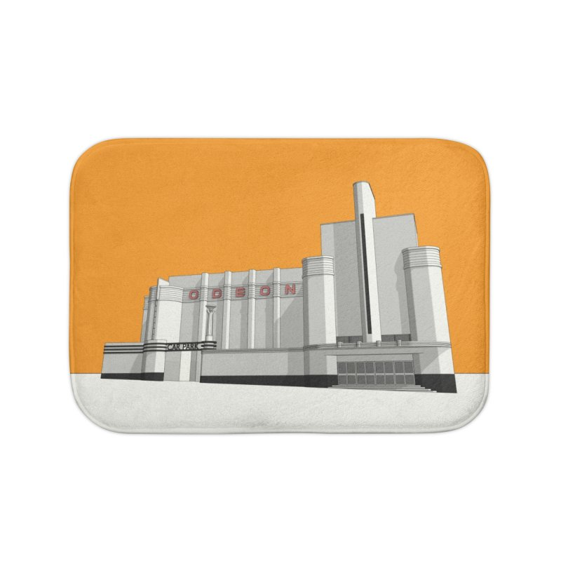 ODEON Woolwich Home Bath Mat by Pig's Ear Gear on Threadless