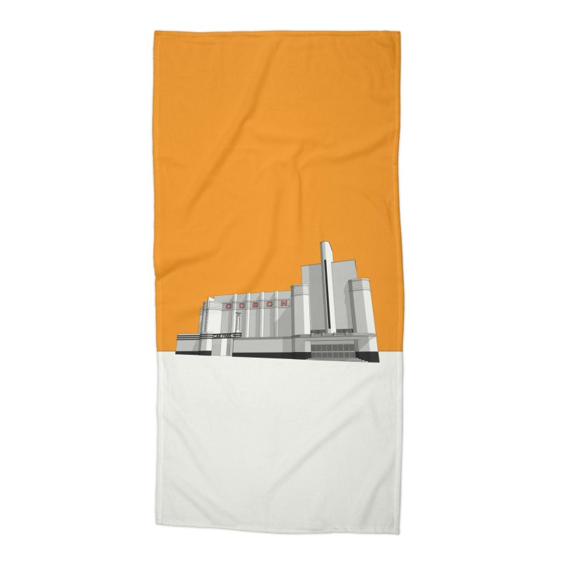 ODEON Woolwich Accessories Beach Towel by Pig's Ear Gear on Threadless