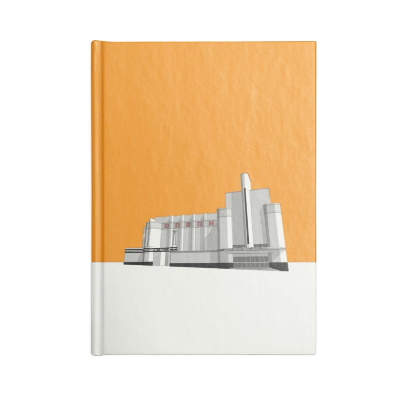 ODEON Woolwich Accessories Blank Journal Notebook by Pig's Ear Gear on Threadless