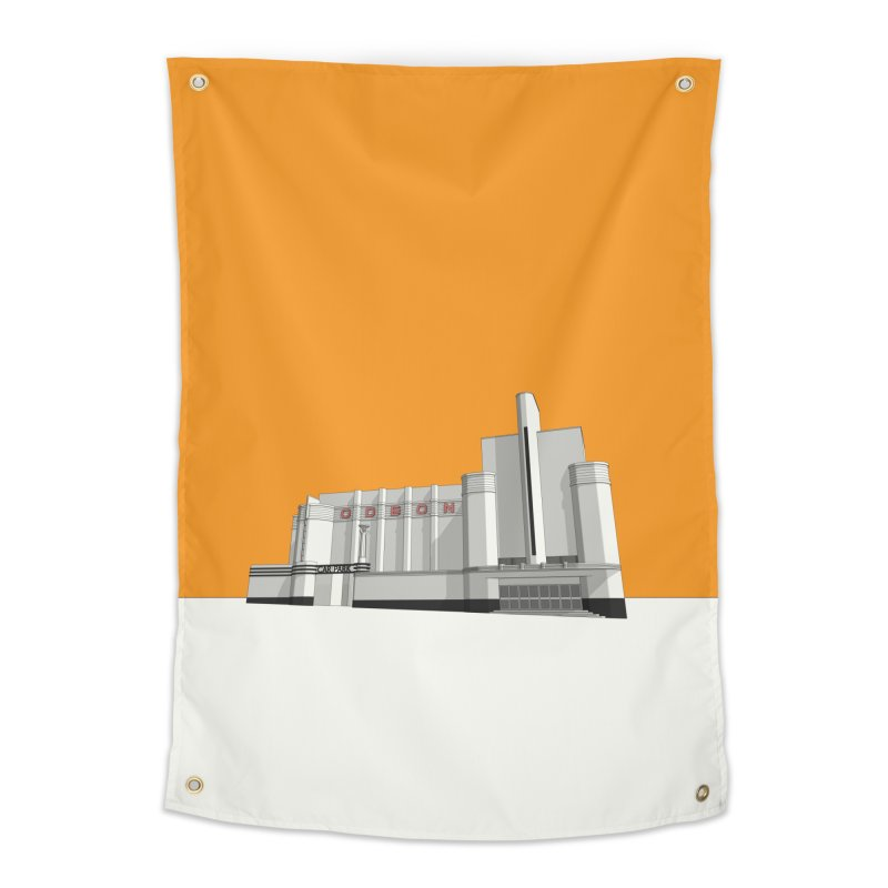 ODEON Woolwich Home Tapestry by Pig's Ear Gear on Threadless