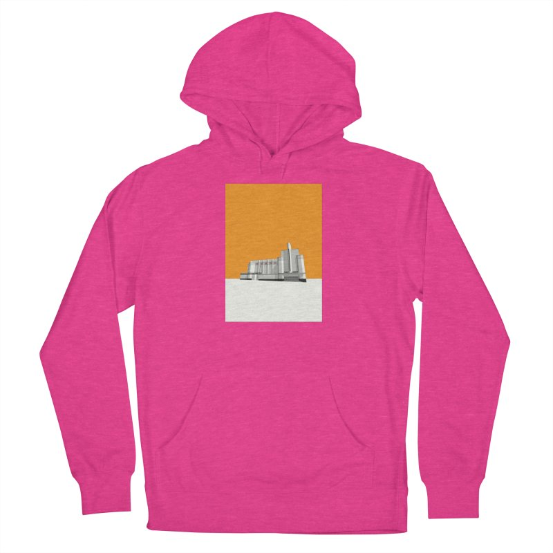 ODEON Woolwich Women's French Terry Pullover Hoody by Pig's Ear Gear on Threadless