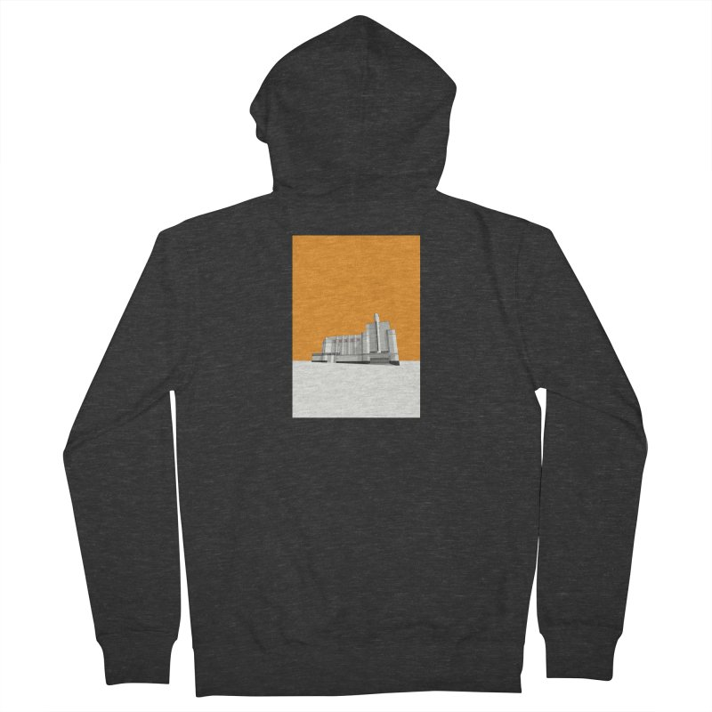 ODEON Woolwich Women's French Terry Zip-Up Hoody by Pig's Ear Gear on Threadless