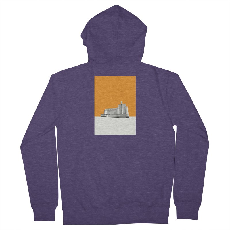ODEON Woolwich Men's French Terry Zip-Up Hoody by Pig's Ear Gear on Threadless