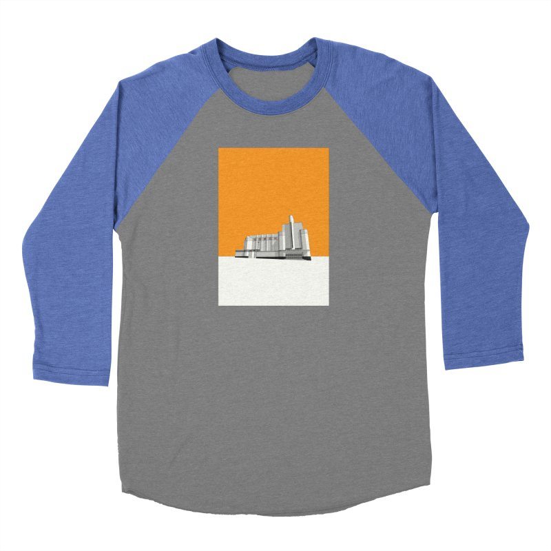 ODEON Woolwich Women's Baseball Triblend Longsleeve T-Shirt by Pig's Ear Gear on Threadless
