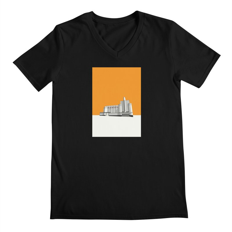ODEON Woolwich Men's Regular V-Neck by Pig's Ear Gear on Threadless