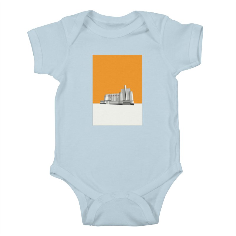 ODEON Woolwich Kids Baby Bodysuit by Pig's Ear Gear on Threadless
