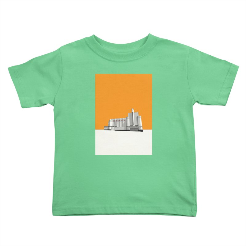 ODEON Woolwich Kids Toddler T-Shirt by Pig's Ear Gear on Threadless