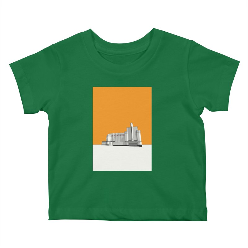 ODEON Woolwich Kids Baby T-Shirt by Pig's Ear Gear on Threadless