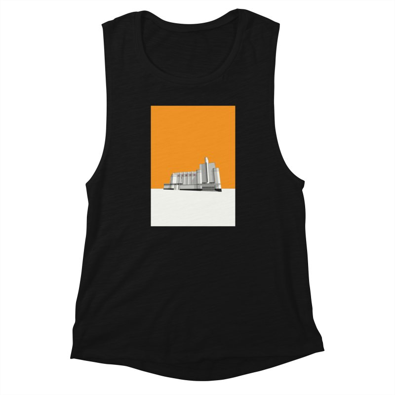 ODEON Woolwich Women's Muscle Tank by Pig's Ear Gear on Threadless
