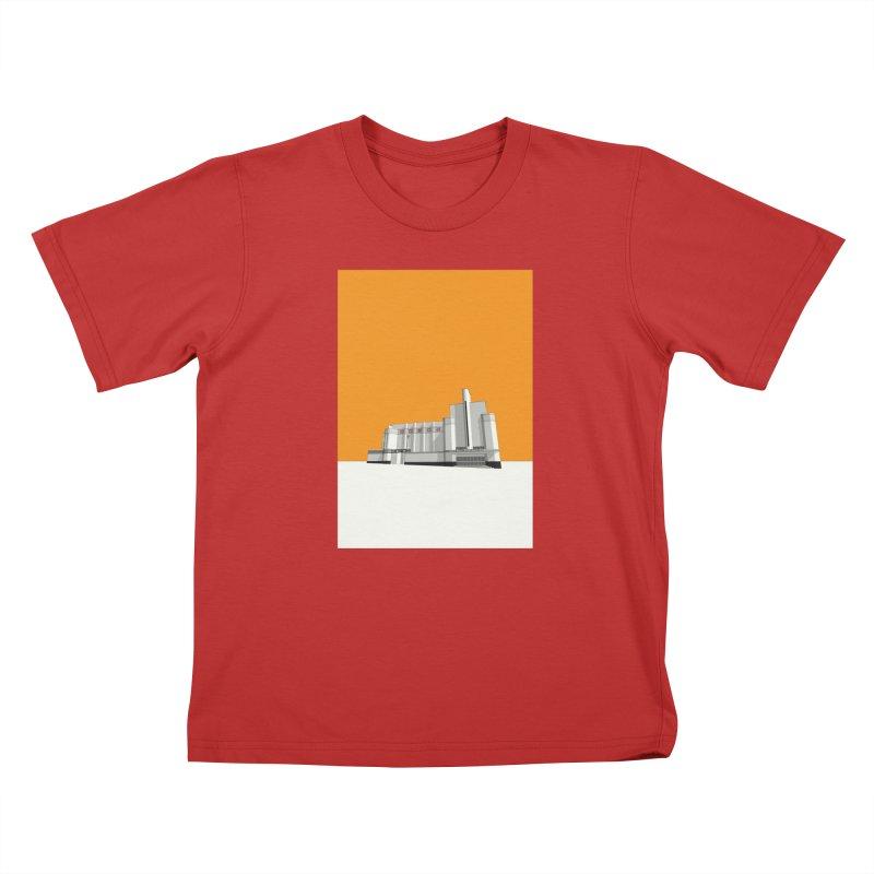 ODEON Woolwich Kids T-Shirt by Pig's Ear Gear on Threadless