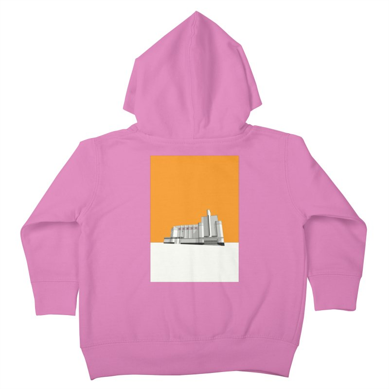 ODEON Woolwich Kids Toddler Zip-Up Hoody by Pig's Ear Gear on Threadless