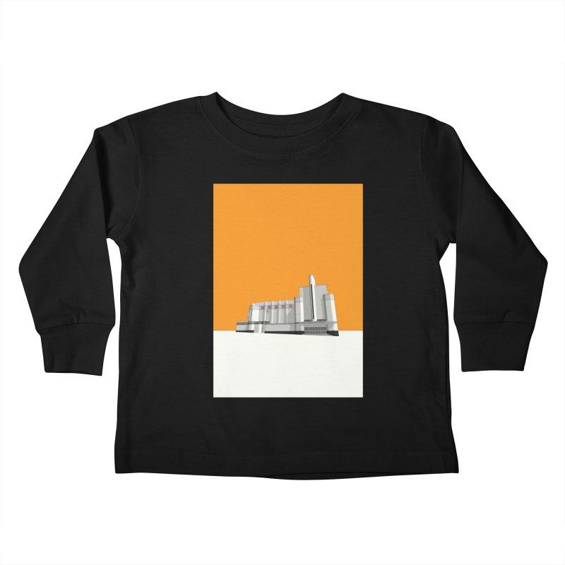 ODEON Woolwich Kids Toddler Longsleeve T-Shirt by Pig's Ear Gear on Threadless