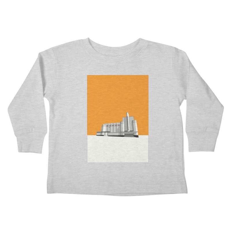 ODEON Woolwich Kids Toddler Longsleeve T-Shirt by Pig's Ear Gear on Threadless
