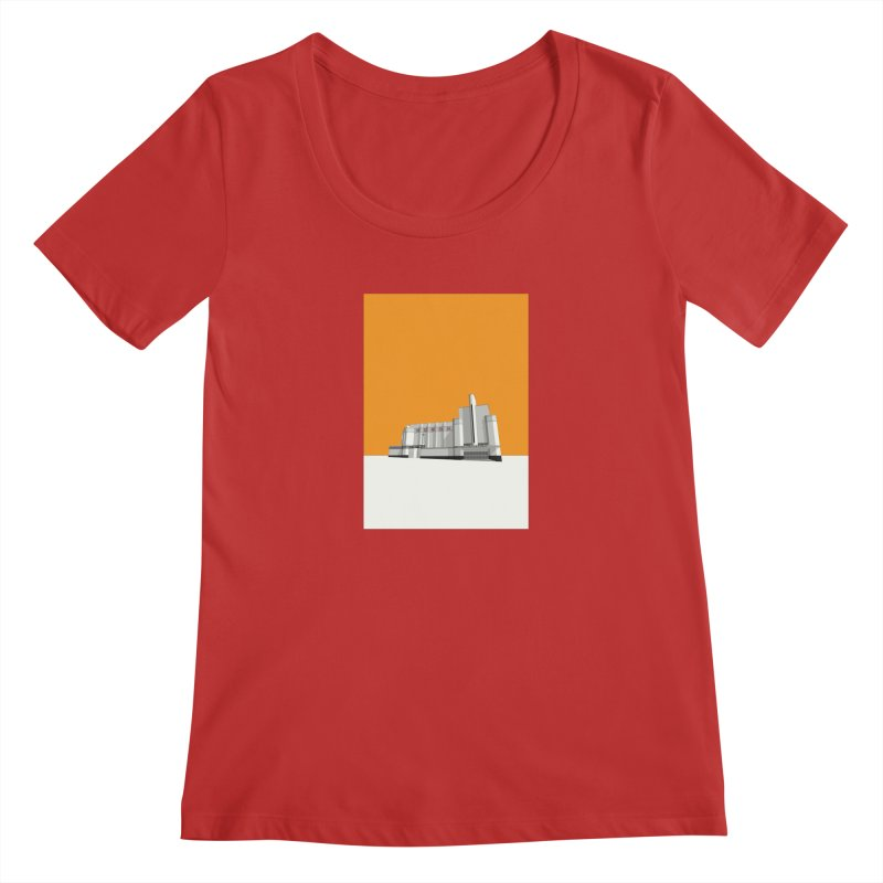 ODEON Woolwich Women's Regular Scoop Neck by Pig's Ear Gear on Threadless