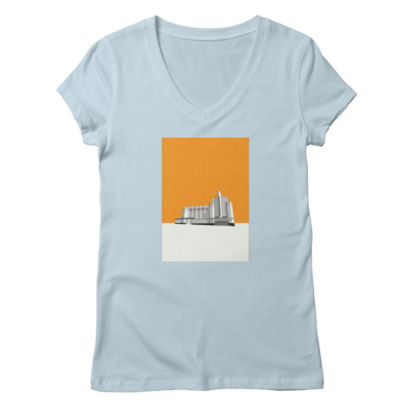 ODEON Woolwich Women's Regular V-Neck by Pig's Ear Gear on Threadless