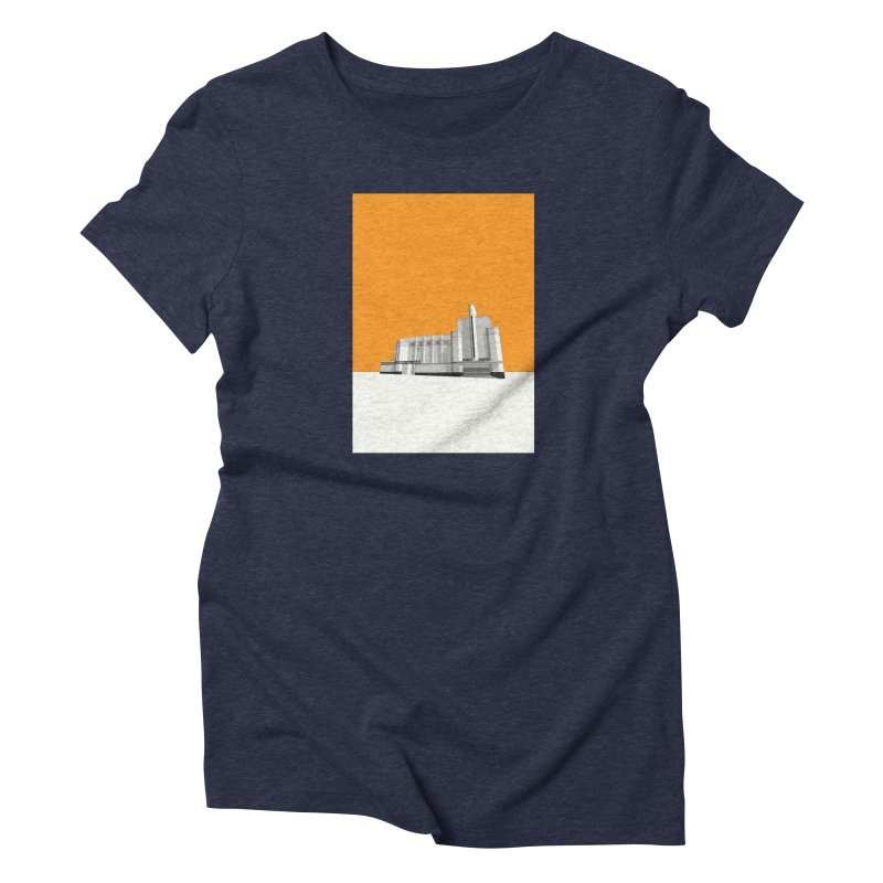 ODEON Woolwich Women's Triblend T-Shirt by Pig's Ear Gear on Threadless