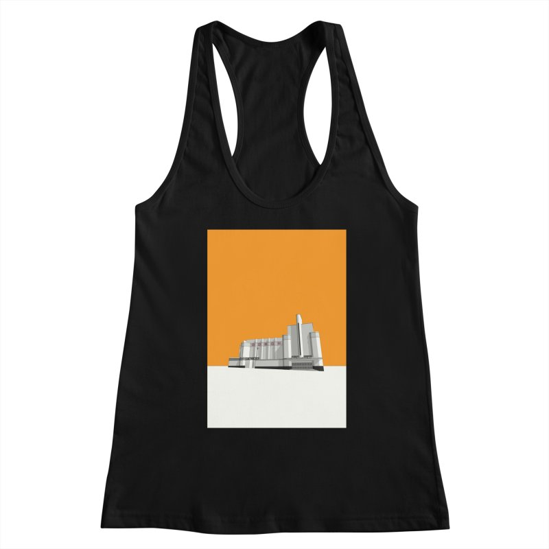 ODEON Woolwich Women's Racerback Tank by Pig's Ear Gear on Threadless