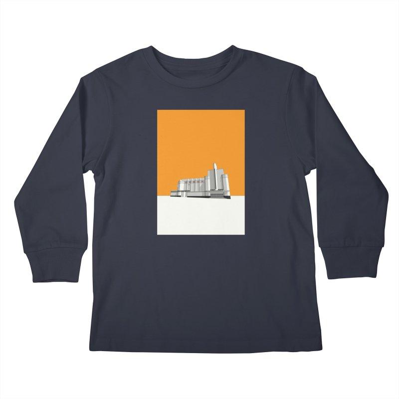 ODEON Woolwich Kids Longsleeve T-Shirt by Pig's Ear Gear on Threadless