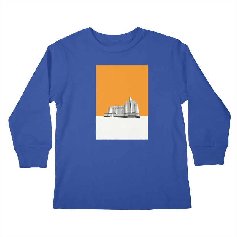 ODEON Woolwich Kids Longsleeve T-Shirt by Pig's Ear Gear on Threadless