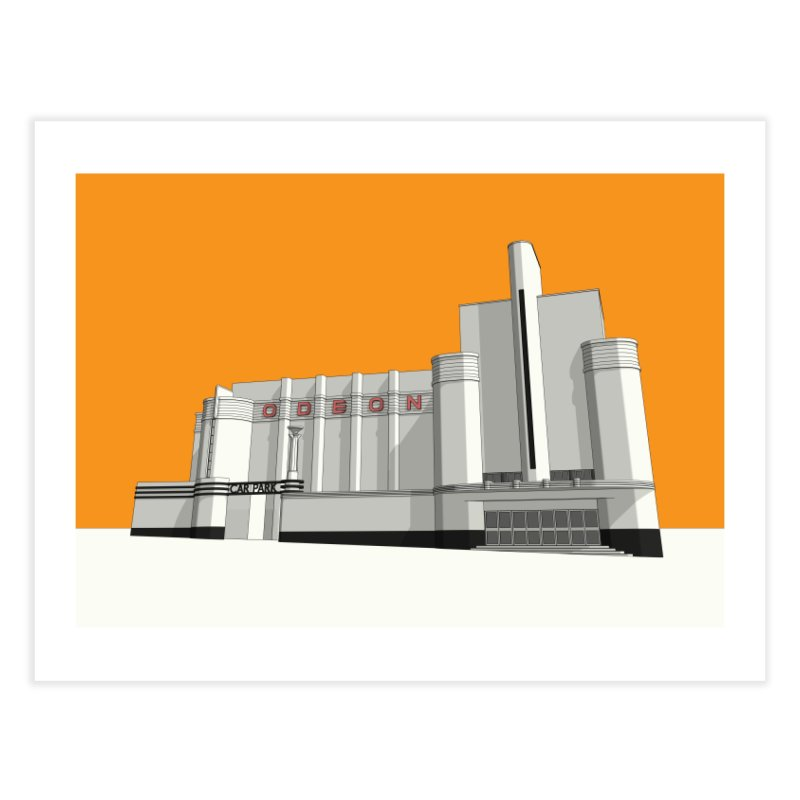 ODEON Woolwich Home Fine Art Print by Pig's Ear Gear on Threadless