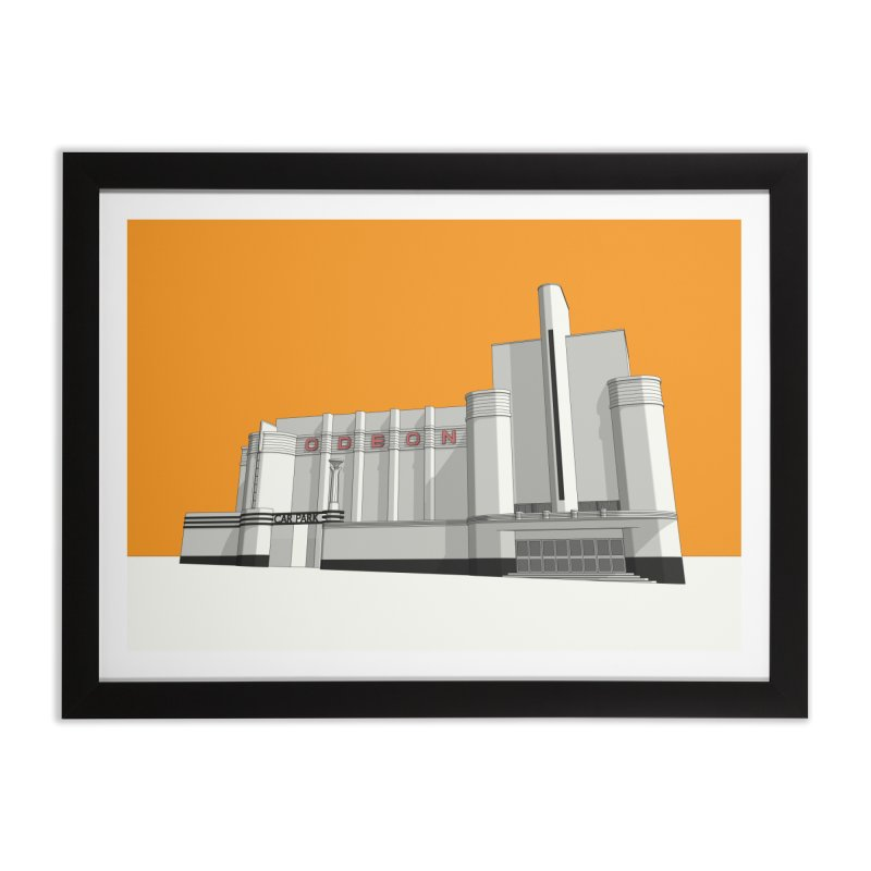 ODEON Woolwich Home Framed Fine Art Print by Pig's Ear Gear on Threadless