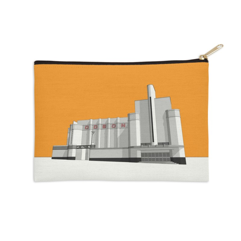 ODEON Woolwich Accessories Zip Pouch by Pig's Ear Gear on Threadless