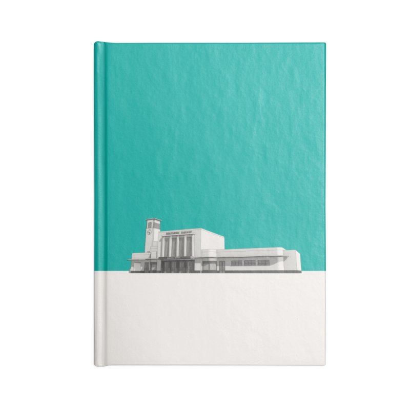 Surbiton Station Accessories Blank Journal Notebook by Pig's Ear Gear on Threadless