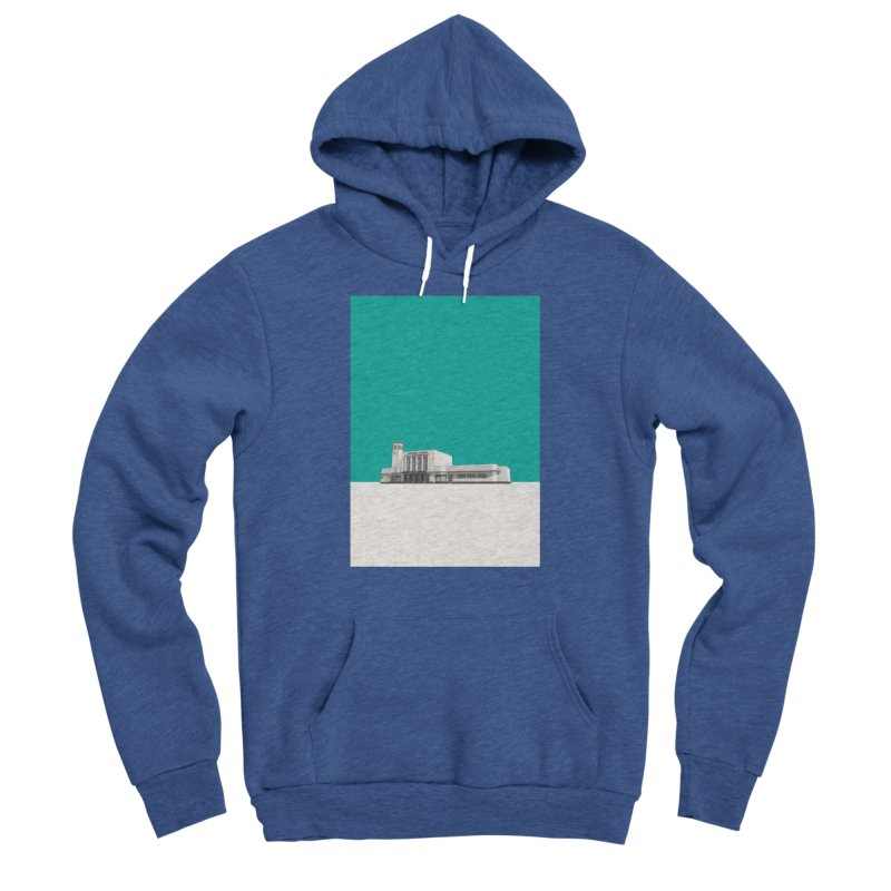 Surbiton Station Women's Sponge Fleece Pullover Hoody by Pig's Ear Gear on Threadless