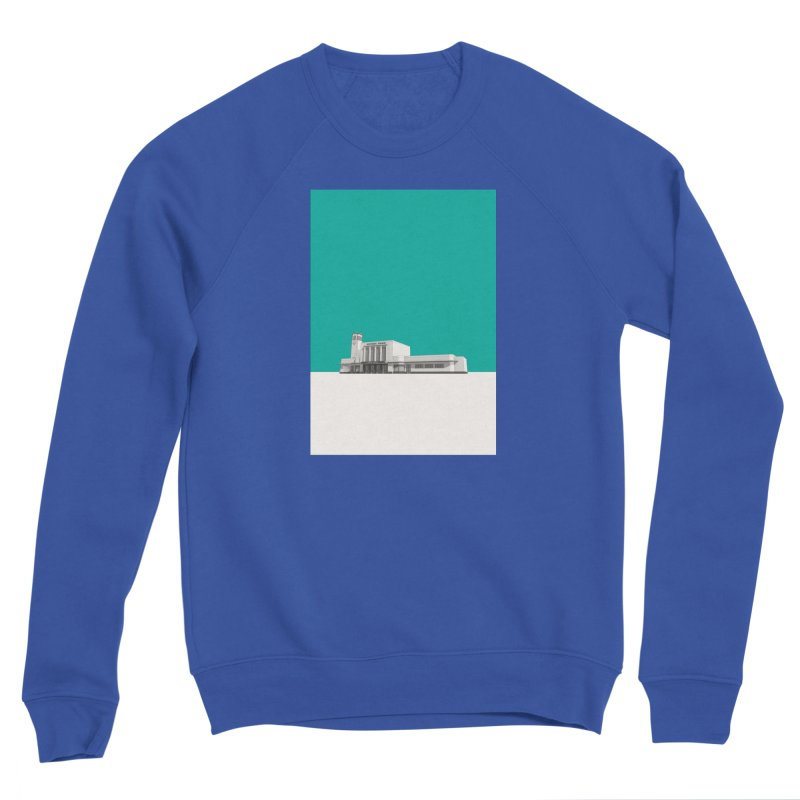 Surbiton Station Men's Sponge Fleece Sweatshirt by Pig's Ear Gear on Threadless