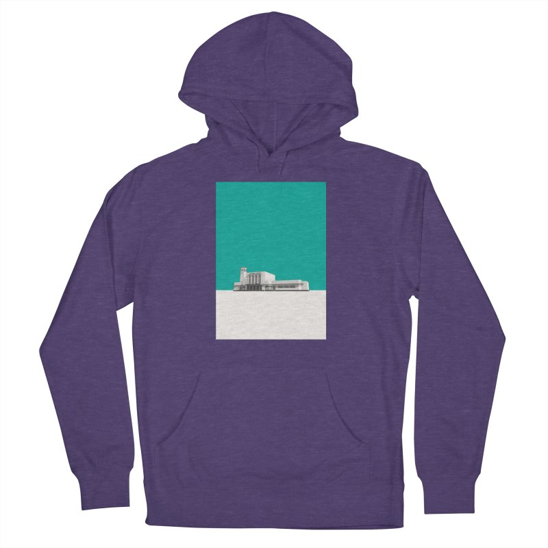 Surbiton Station Women's French Terry Pullover Hoody by Pig's Ear Gear on Threadless