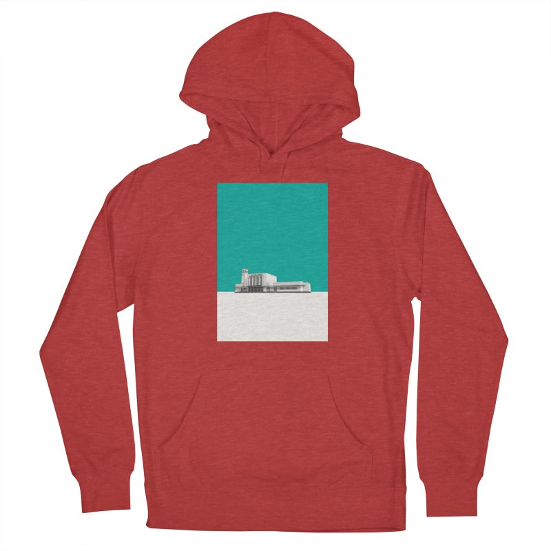 Surbiton Station Men's French Terry Pullover Hoody by Pig's Ear Gear on Threadless
