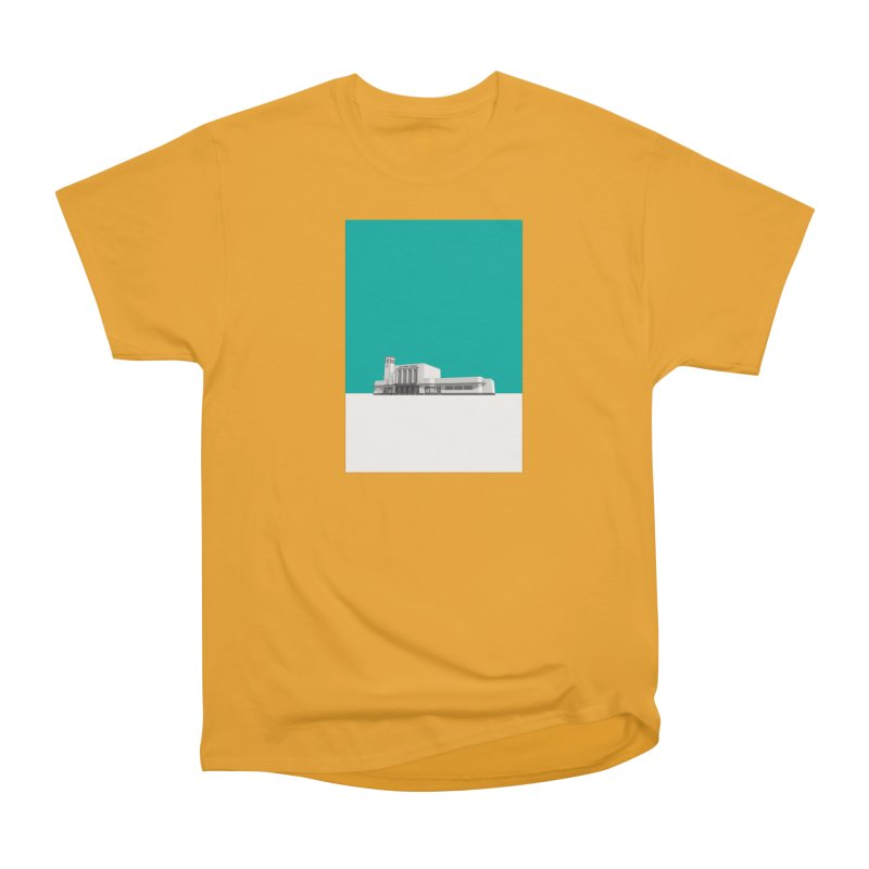 Surbiton Station Men's Heavyweight T-Shirt by Pig's Ear Gear on Threadless