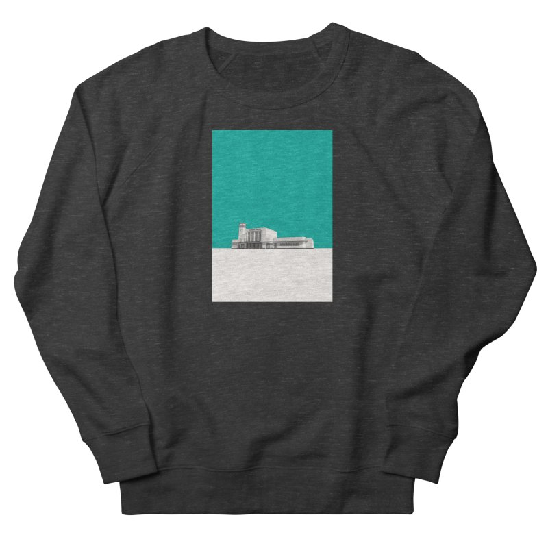Surbiton Station Women's French Terry Sweatshirt by Pig's Ear Gear on Threadless