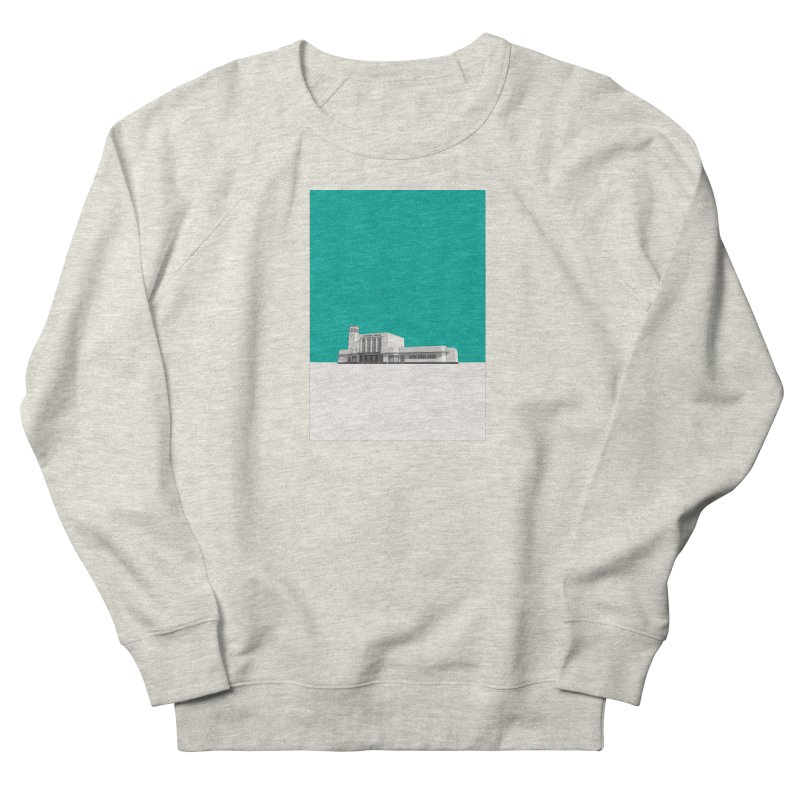 Surbiton Station Men's French Terry Sweatshirt by Pig's Ear Gear on Threadless