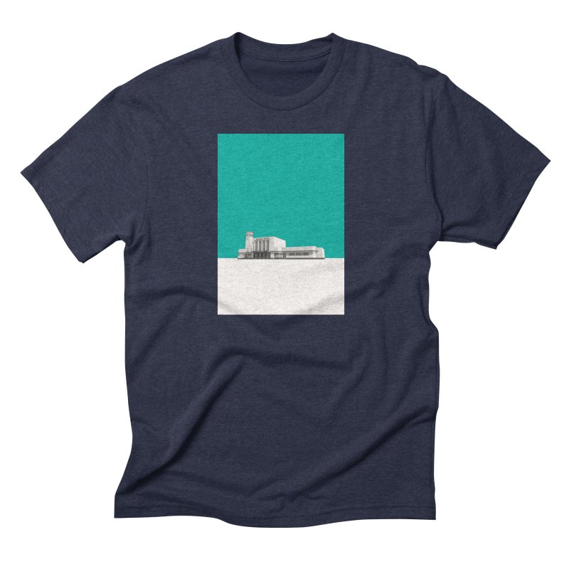 Surbiton Station Men's Triblend T-Shirt by Pig's Ear Gear on Threadless