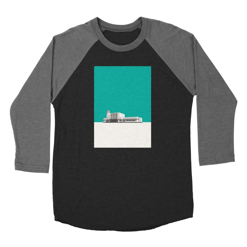 Surbiton Station Women's Baseball Triblend Longsleeve T-Shirt by Pig's Ear Gear on Threadless