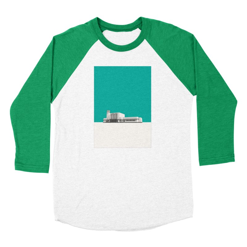 Surbiton Station Men's Baseball Triblend Longsleeve T-Shirt by Pig's Ear Gear on Threadless