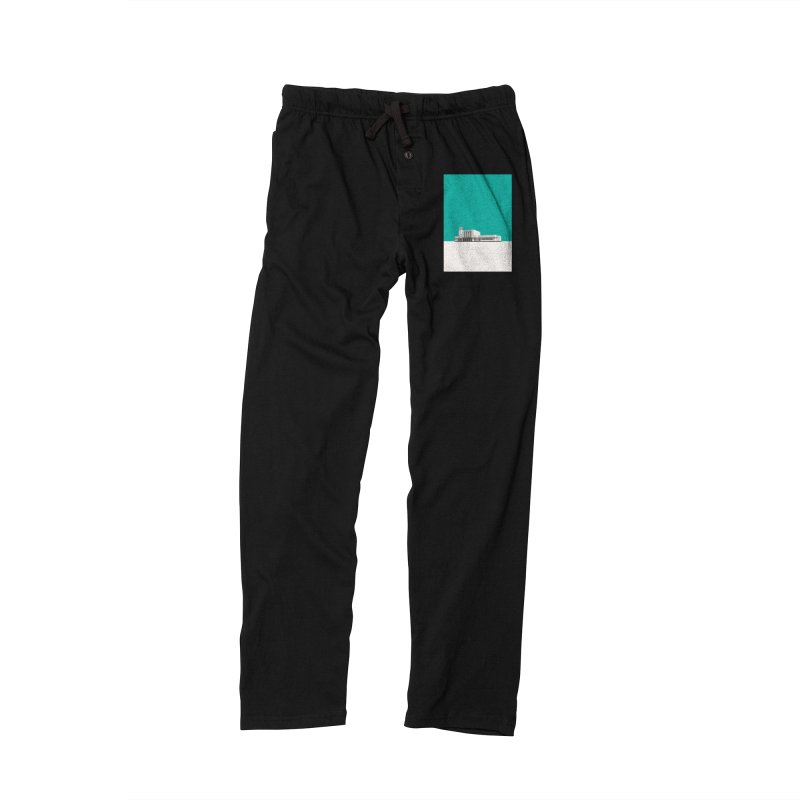 Surbiton Station Men's Lounge Pants by Pig's Ear Gear on Threadless