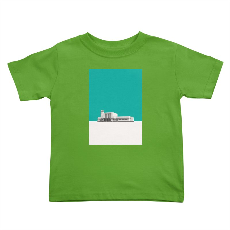 Surbiton Station Kids Toddler T-Shirt by Pig's Ear Gear on Threadless
