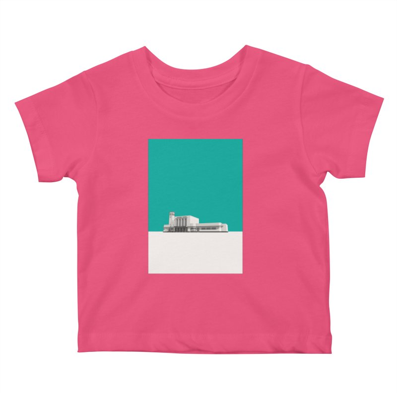 Surbiton Station Kids Baby T-Shirt by Pig's Ear Gear on Threadless