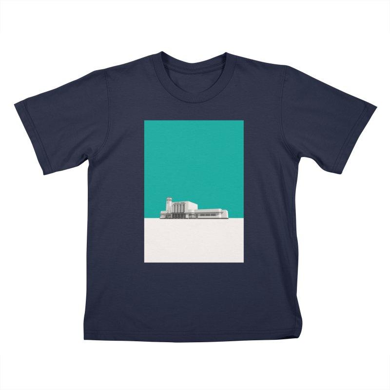Surbiton Station Kids T-Shirt by Pig's Ear Gear on Threadless