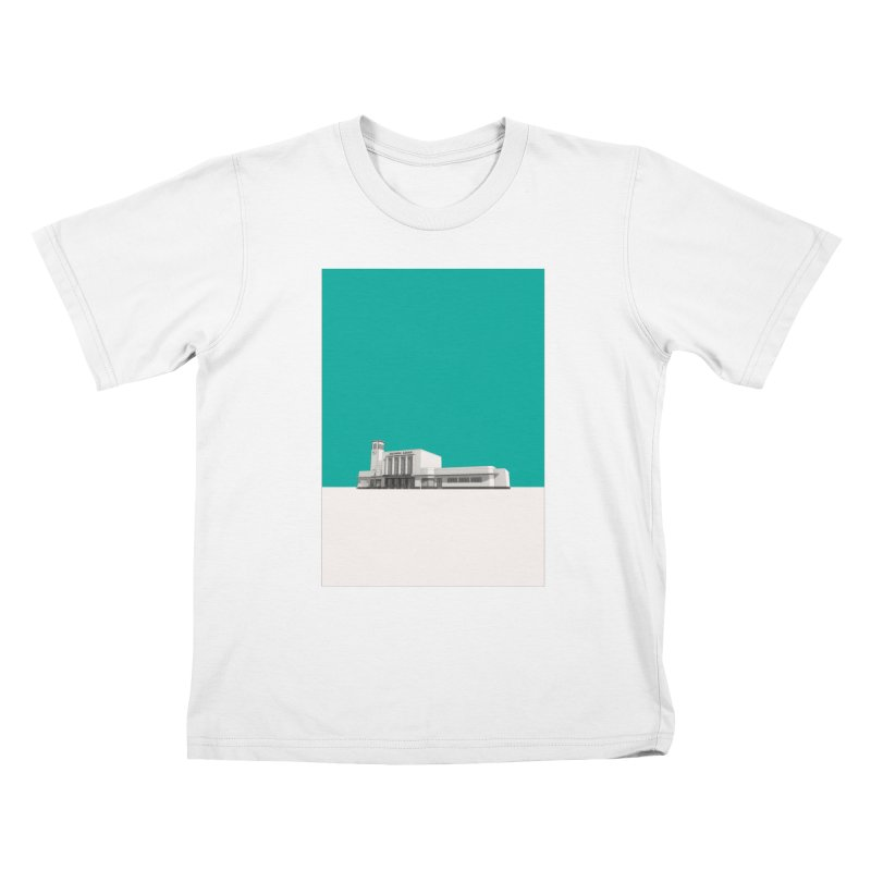 Surbiton Station Kids T-Shirt by Pig's Ear Gear on Threadless