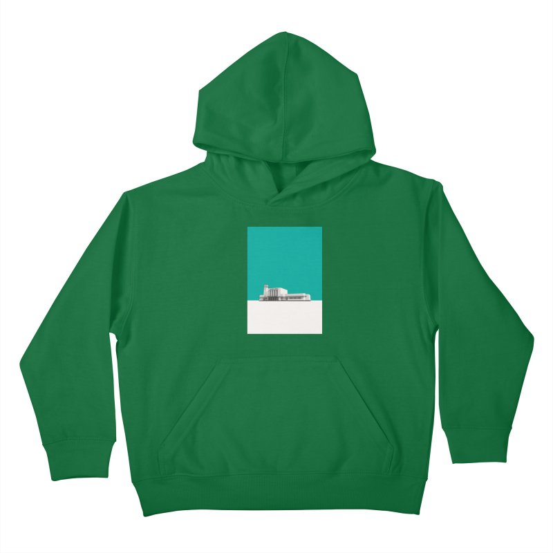 Surbiton Station Kids Pullover Hoody by Pig's Ear Gear on Threadless
