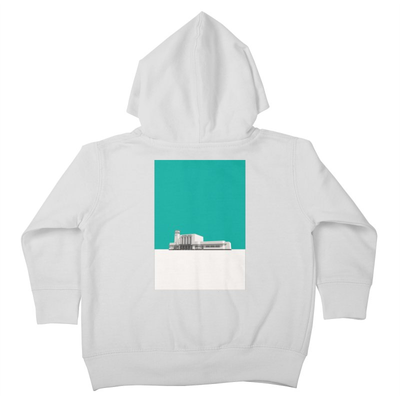 Surbiton Station Kids Toddler Zip-Up Hoody by Pig's Ear Gear on Threadless