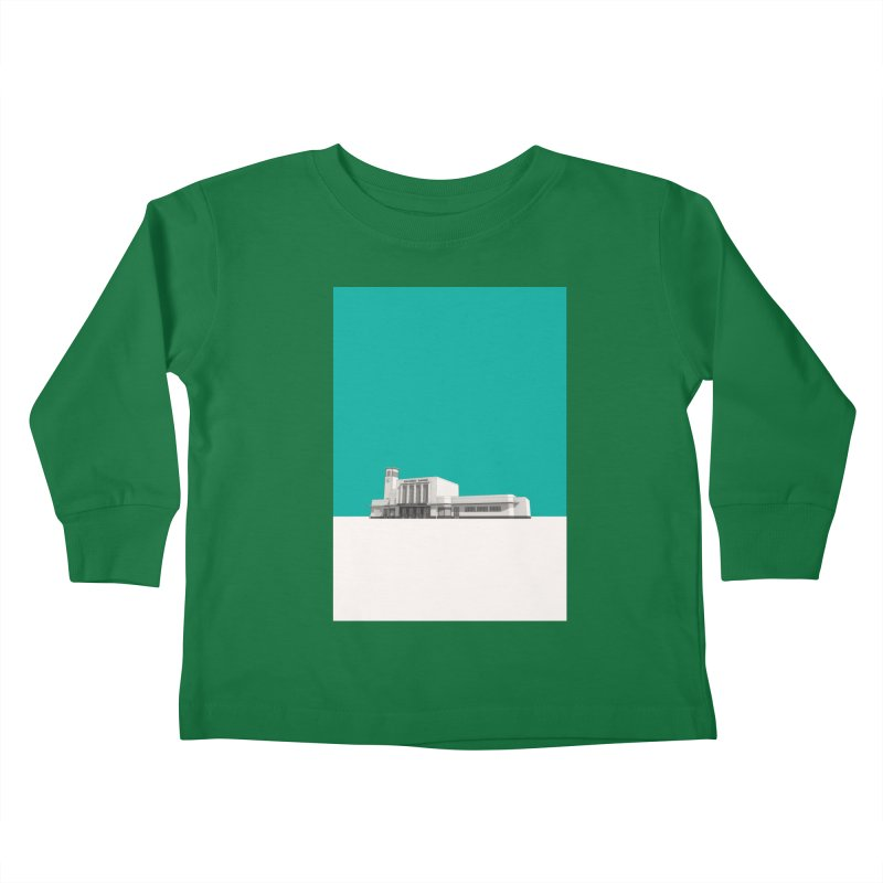 Surbiton Station Kids Toddler Longsleeve T-Shirt by Pig's Ear Gear on Threadless