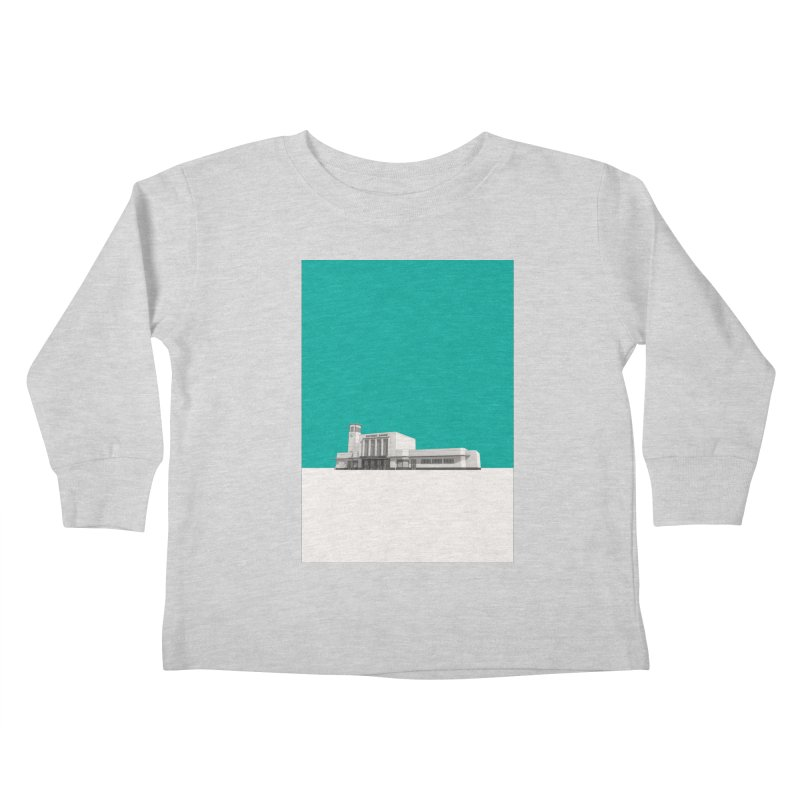 Surbiton Station Kids Toddler Longsleeve T-Shirt by Pig's Ear Gear on Threadless