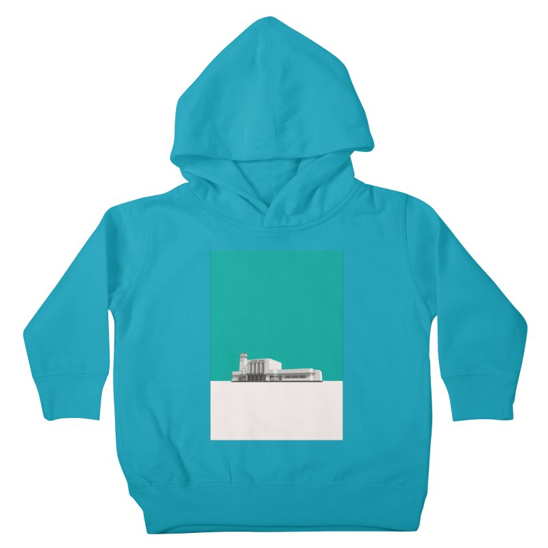 Surbiton Station Kids Toddler Pullover Hoody by Pig's Ear Gear on Threadless
