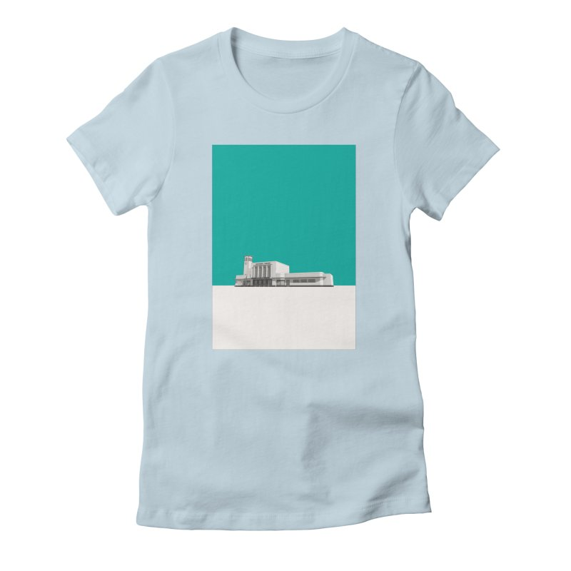 Surbiton Station Women's Fitted T-Shirt by Pig's Ear Gear on Threadless