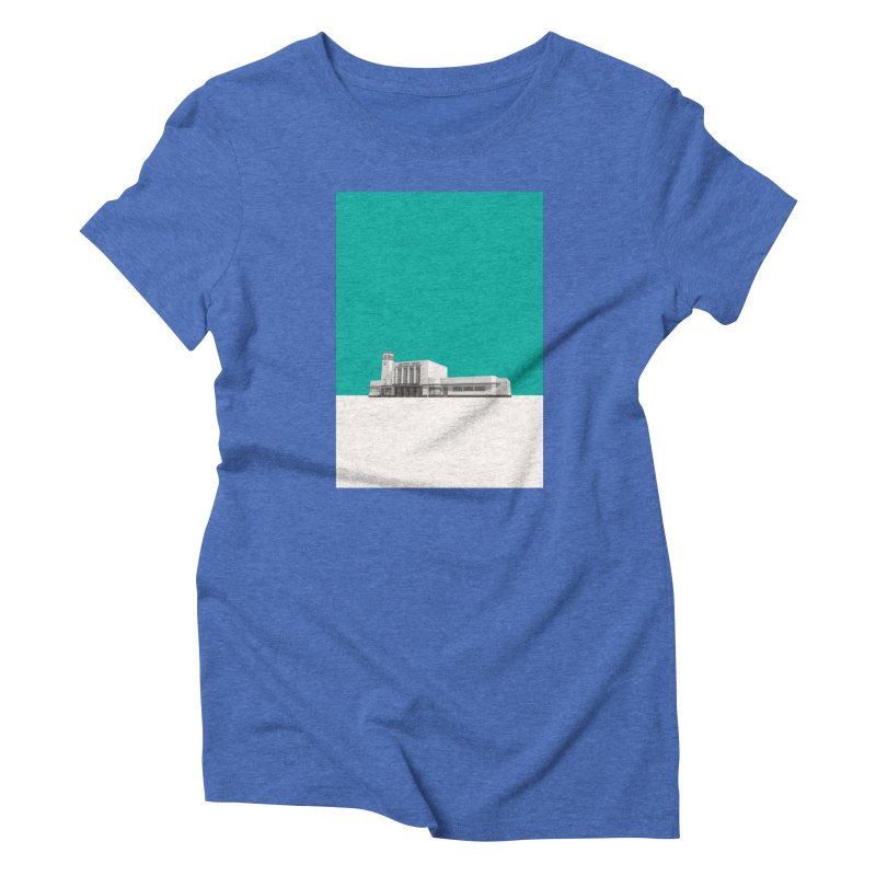 Surbiton Station Women's Triblend T-Shirt by Pig's Ear Gear on Threadless