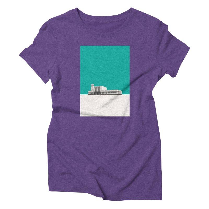 Surbiton Station Women's Triblend T-Shirt by Pig's Ear Gear on Threadless